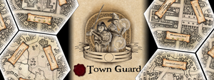 Town Guard Background Art by vulpinoid