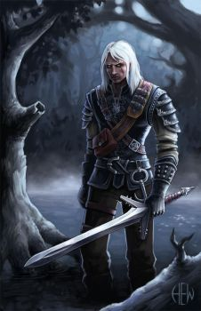 The Witcher by AlvinHew