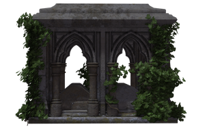 Gothic Tomb 03 by Free-Stock-By-Wayne