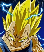 majin vegeta by chibi dam'z by ChibiDamZ