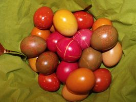 Easter eggs II by cayra