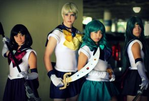 Outer Senshi by Royal-Blue-Cosplay