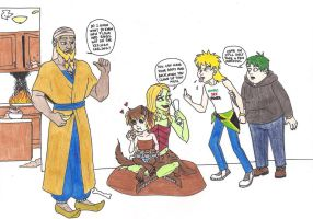 Torvus' Children and the Grand Baking Scheme by 13foxywolf666
