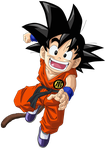 Kid Goku Vector Render/Extraction PNG by TattyDesigns