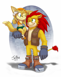 Junk Duo by BlazeTBW