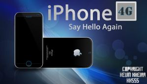 iPhone 4G Concept by KK555