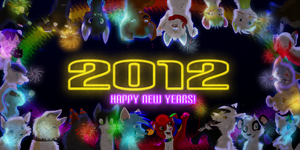 Happy New Years 2012 by Creativepup702