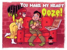 Mutant Valentine by OhSadface