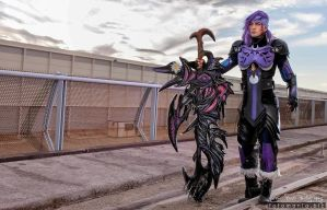 Caius Ballad Cosplay - Final Fantasy XIII-2 by LC by LeonChiroCosplayArt