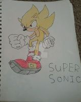 Super Sonic by Sonic33333