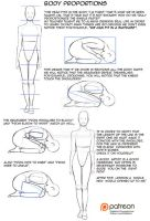 Body proportions TUTORIAL by Kibbitzer