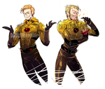 Eobard and His Curly Fries.. by DarkLitria