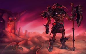 Diablo 3 - Barberian by Cane-force