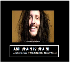 Spain is Spain Demotivational by Oblivion69
