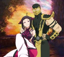 Scorpion And Juri by 2321351scorpion