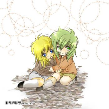 Shun + Hyoga - Children by Sagakure