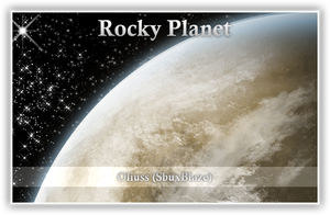 Rocky Planet by Oliuss