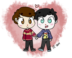 Dan and Phil (again) by Summer-Breezie