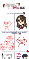 double meme thing by Lunchwere