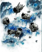 BLACK STORM SHEEPS by Kittyyy