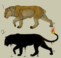 Lion Adoptables 4 CLOSED by NS-blue