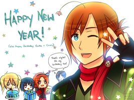 Happy New Year! 2014 by Sealkittyy