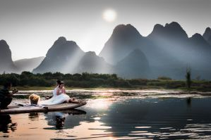 Wedding on Li River | Guilin by *alierturk