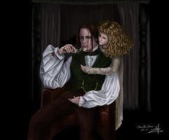 Louis and Clauida by omerbd
