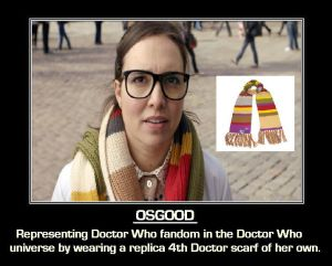 Doctor Who - Osgood by DoctorWhoOne