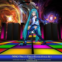 MMD Miku's Disco Fever Stage Set (Ver 2.0) by Trackdancer