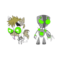 I.Z: Mite (disguise and Sir unit) by Creaturefeaturefan10