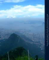 View from Corcovado 05 by kuschelirmel-stock