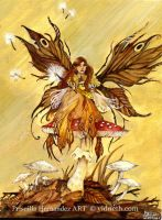 Autumn Fairy by yidneth