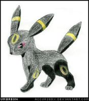 Pokemon - Umbreon by accursedx