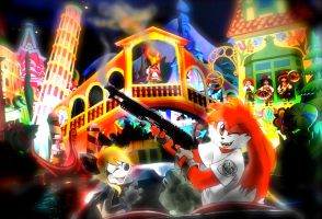 it's a small world afte- PUM!! by twisted-wind