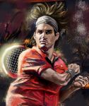 Roger Federer by A-BB