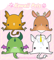 .:Kawaii Pets 4-Fantasy:. by PhantomCarnival