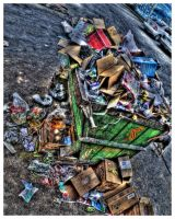 Colorfull garbage by zentenophotography