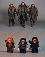 Hot LEGO Dwarves by Norloth