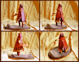 Journey sculpture by Nakubi