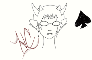 Sollux Sketch by fennyris
