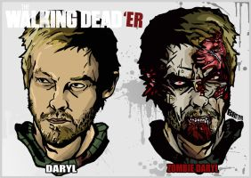 THE WALKING DEAD'ER-DARYL by BR3AR
