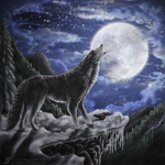 Wolf Moon. by HeatherSchoff