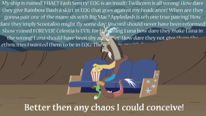 Discord Is Amused by GothamScarecrow