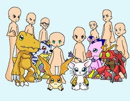 Digimon gang base 2 by HeroHeart001