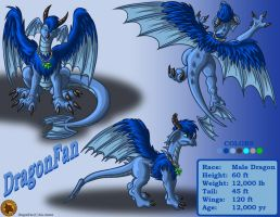 Character Layout - DragonFan by Lysozyme