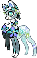 Tumtank Blue orchids by griffsnuff