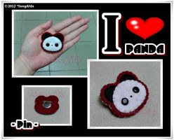 Panda Pin by SongAhIn