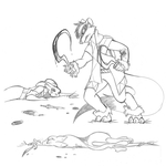 Doodle - There's Fighting by FeretStudios
