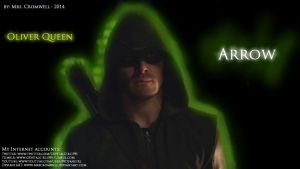 Arrow Wallpaper with my Internet accounts by MrsCromwell